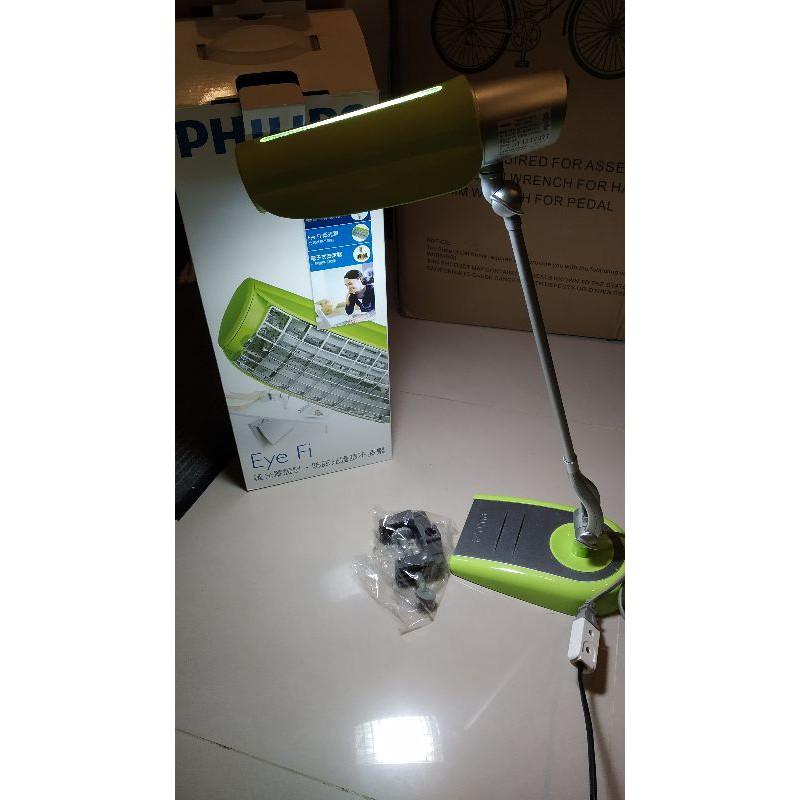 二手檯燈 飛利浦 PHILIPS 鉑光防眩檯燈FDS668, 便宜出售,只有一台.