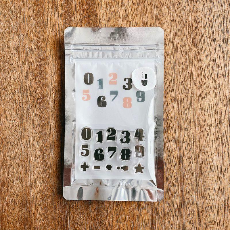 【水縞】日本進口 當店原創 自在水晶印章組 - 數字 Number 02 ( STJP-N-02 )