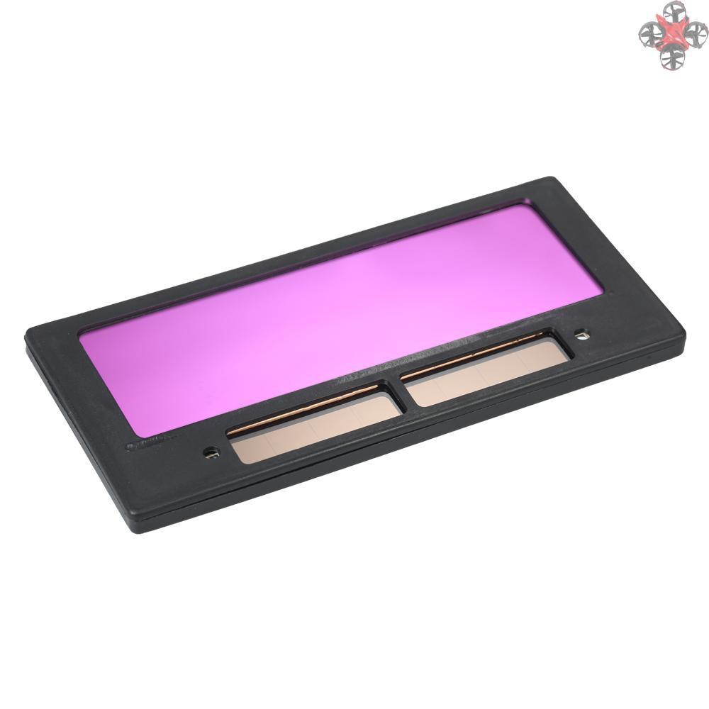 光控變色鏡片電焊面罩專用焊接鏡片太陽能自動變光液晶鏡片變光片