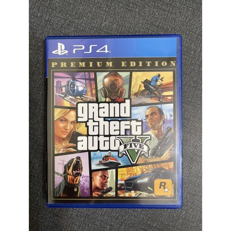 二手 PS4/PS5 遊戲光碟💿GTA5 俠盜獵車手