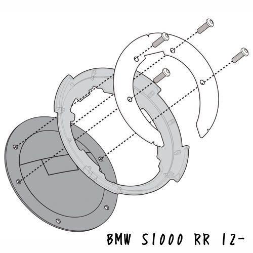 Y.S GIVI BF22 BMW S 1000 RR 快拆式油箱包底盤轉接座/固定座/油箱包/龍骨包