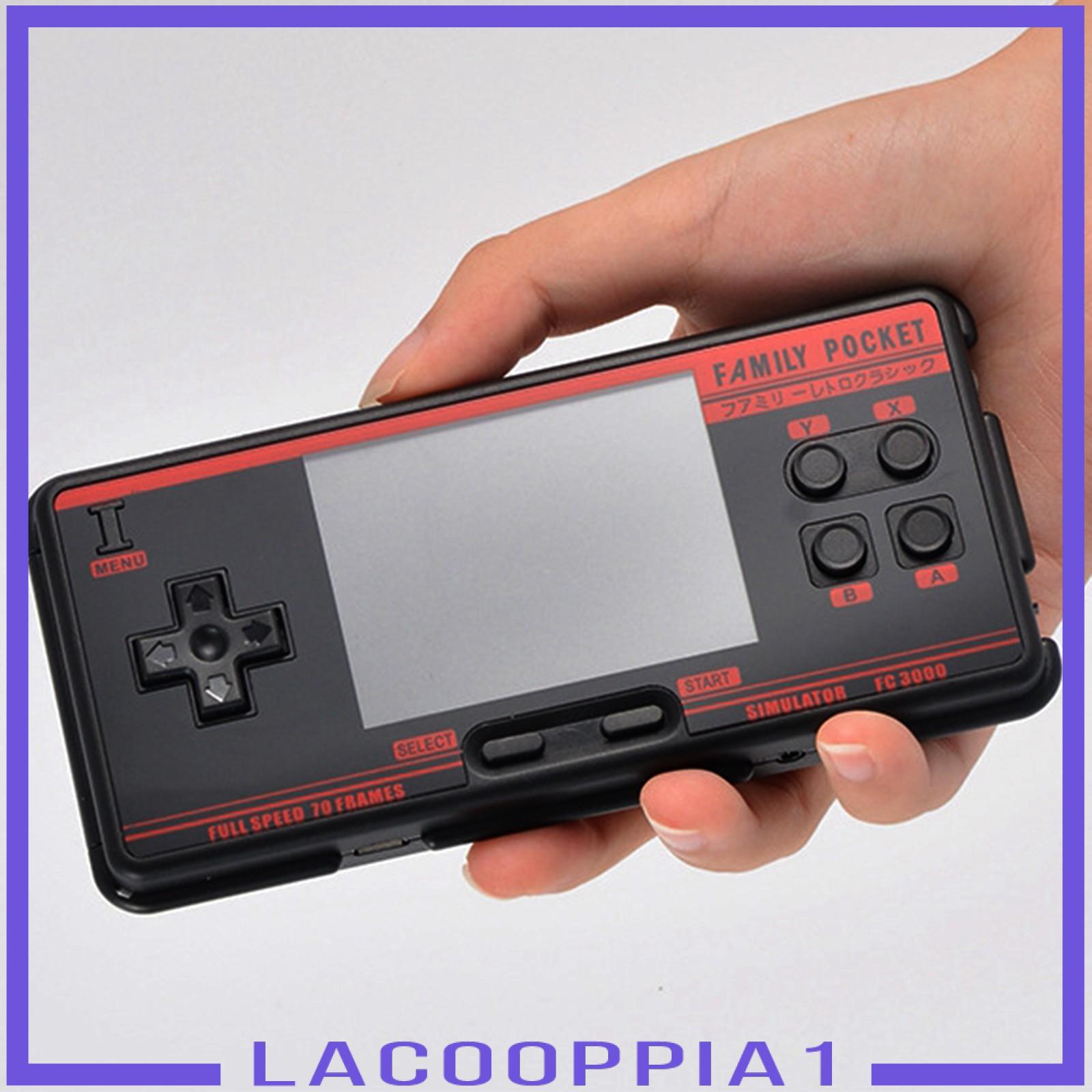 """[Lacooppia1] Fc3000 掌上游戲機 3\ """"高清屏幕視頻經典遊戲機"""