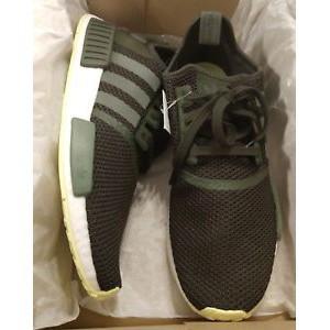 best service be1b5 bca04 Adidas NMD R1 軍綠 網布 男鞋 CQ2414