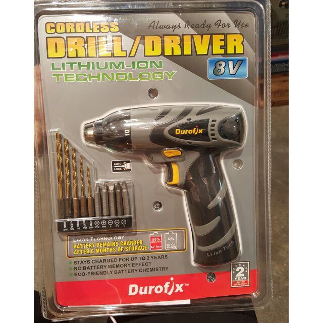 🔥現貨🔥Costco 美國DUROFIX德克斯 8V充電電鑽組