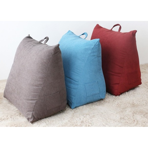【J&P】好市多代購(免運) CASA經典優質三角靠墊 抬腳墊 枕頭 抱枕 素色款