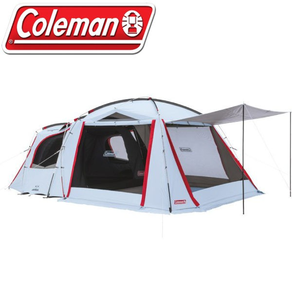 【Coleman 美國 TOUGH SCREEN 2-ROOM+】CM-33134/露營帳篷/一房一廳帳/4-/悠遊山水