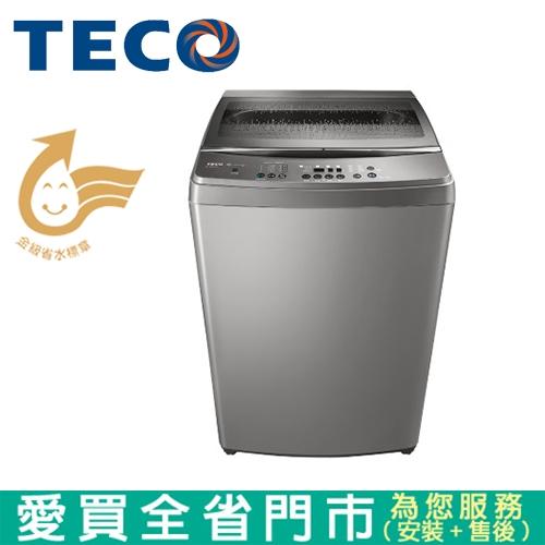 TECO東元16KG DD變頻洗衣機W1668XS含配送+安裝【愛買】