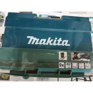 牧田 Makita 9pcs 套筒組 四分套筒 1/ 2吋 B-66232 衝擊扳手 電動扳手 氣動扳手