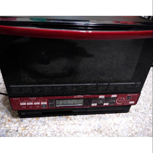 二手 購自日本 HITACHI MRO-NS8 水波爐 烤箱 蒸氣微波爐 僅限面交