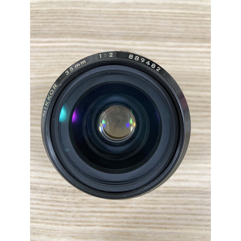 Nikon Non-Ai 35mm F2 MF