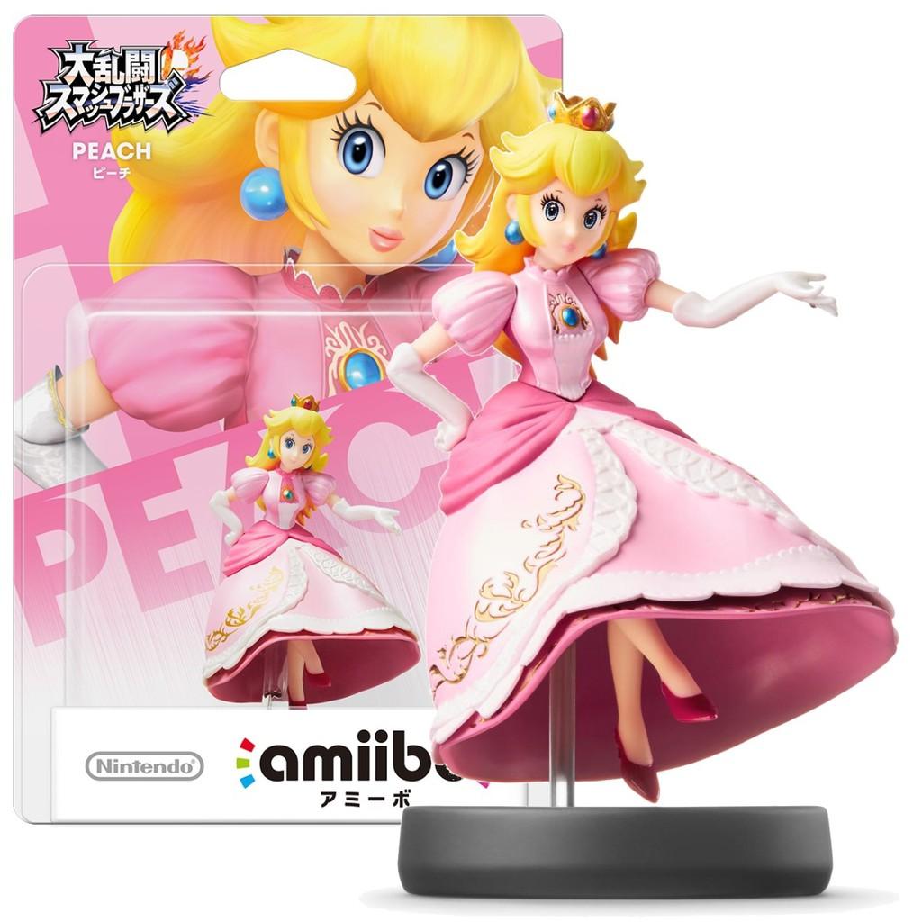 Nintendo Switch 任天堂明星大亂鬥 amiibo 碧姬公主 碧琪公主 PEACH 【台中星光電玩】