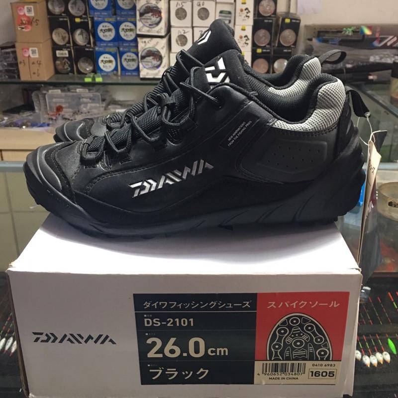 (台灣現貨)DAIWA正品DS-2101膠釘路亞磯釣鞋