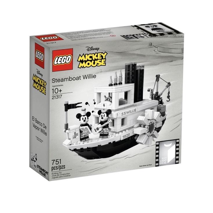 【MiniFun】 LEGO 21317 創意系列 | 汽船威利號