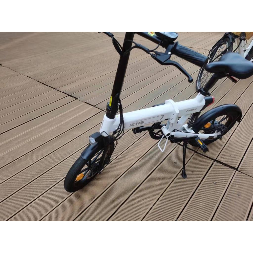 小米喜摩HIMO 【Z16】電動助力折疊自行車鋰電池電動車 折叠脚踏车