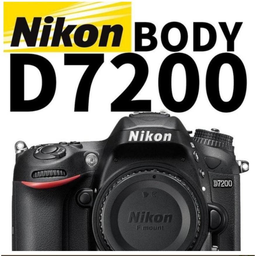 二手快門數50 公司貨保固內 Nikon D7200 單眼相機 單機身 防塵防滴 D7100 後續 70D 7D2