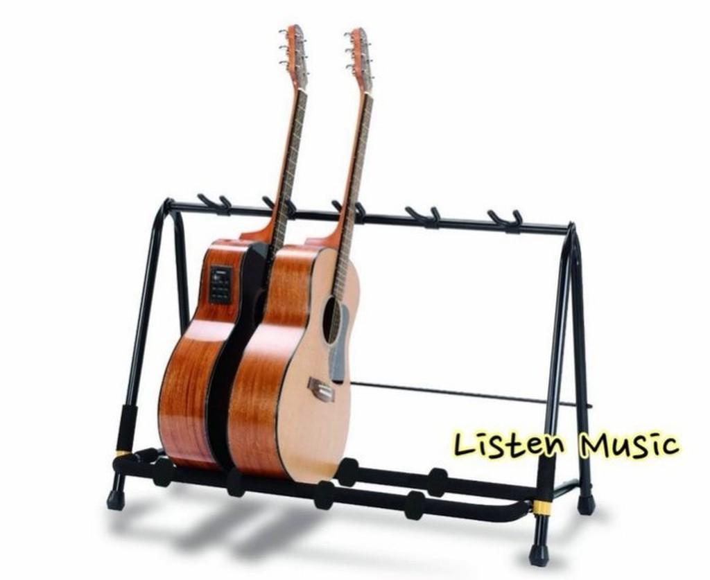 小叮噹的店- 精品級 吉他展示架.HERCULES(海克力斯) GS525B 5支型吉他架 適用於舞台