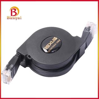 [Blesiya1] Cat6 伸縮以太網網絡跳線 10 /  100 /  1000 Mbps-3.3 英尺
