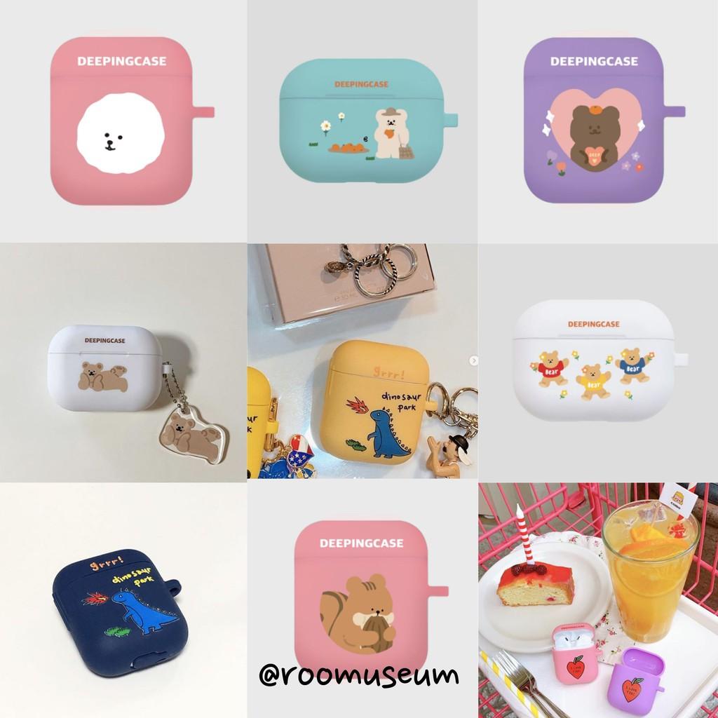 Roomuseum韓國代購🇰🇷Deeping Case Airpods case pro buds 保護殼