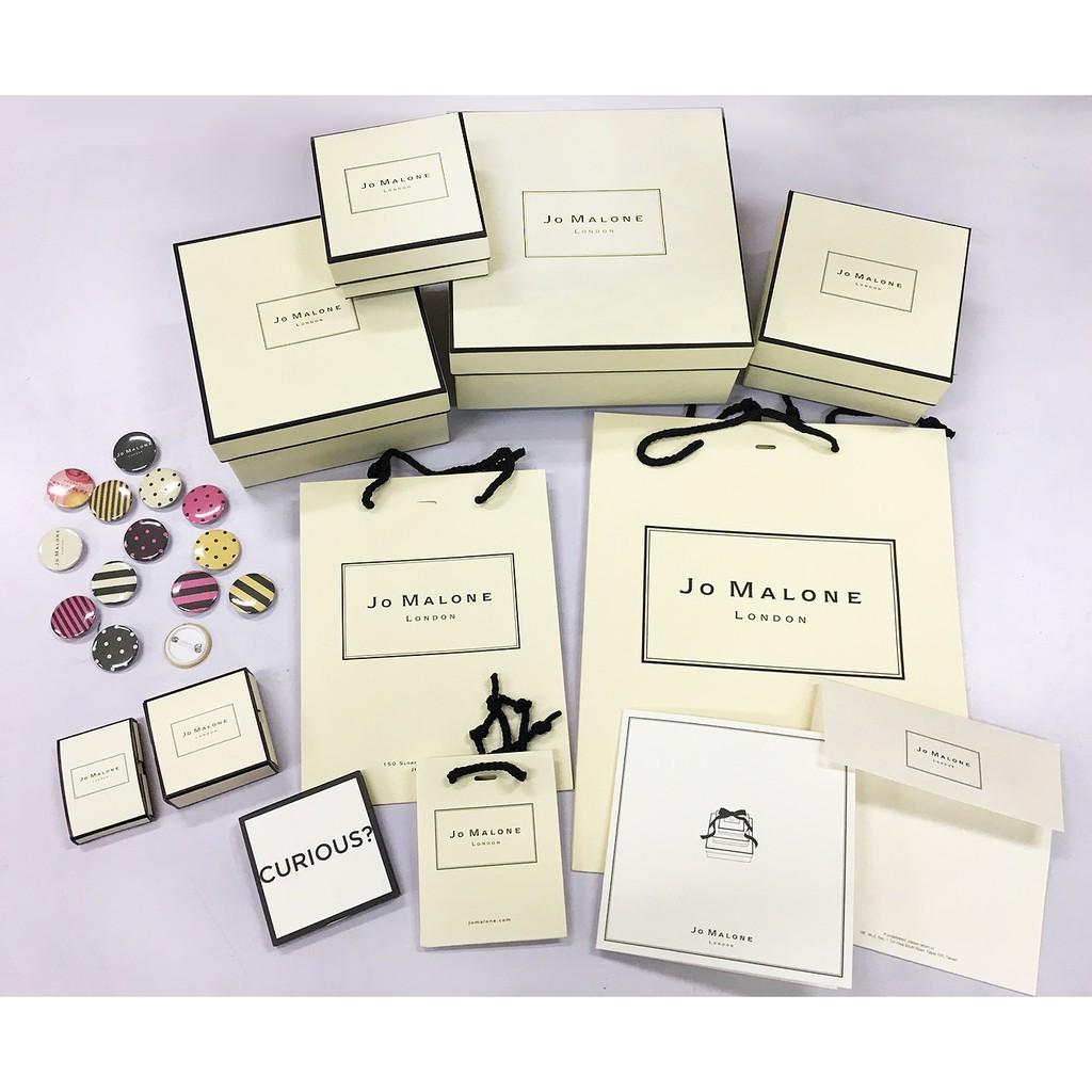 Jo Malone 專櫃品牌周邊包材 [原廠進口硬質香水禮盒/包裝紙盒/怦然心動魔法整理盒/針管禮盒]【美麗購】