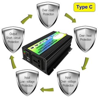 3000W 12V至220V /  110V雙USB汽車電源逆變器轉換器 hugbabym1汽配店