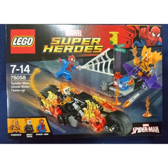 LEGO 76058 SPIDER-MAN: GHOST RIDER TEAM-UP