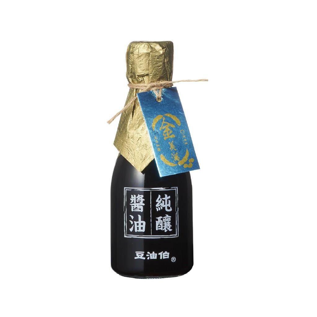 豆油伯金美滿醬油(無添加糖)500ml