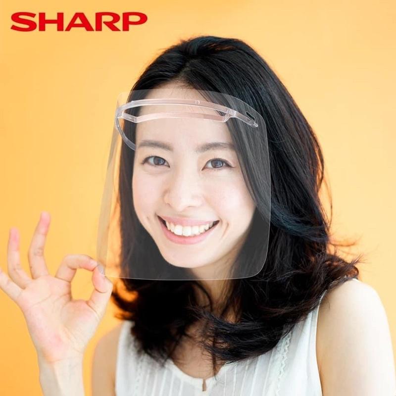 現貨 日本製造夏普SHARP-郭董郭夫人同款蛾眼科技防護面罩