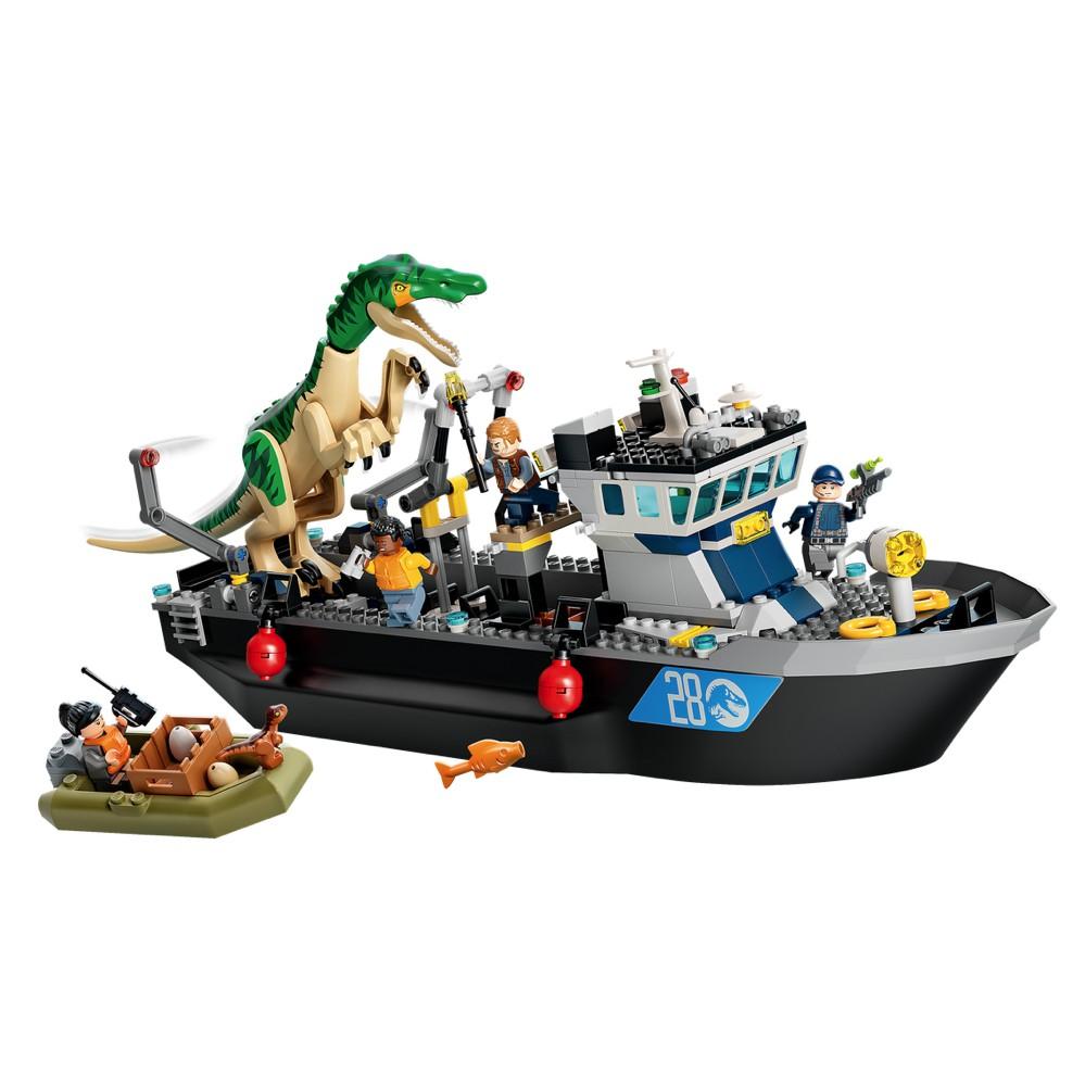 騎士🔱  LEGO 76942 重爪龍快艇逃脫