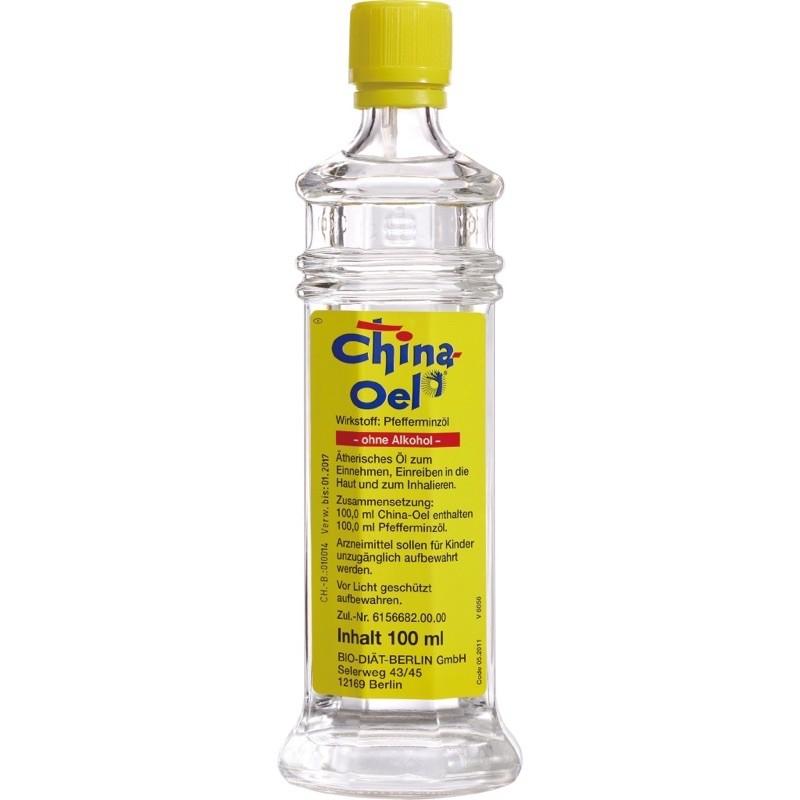德國百靈油 China Oel 薄荷油100ml 不含吸入器