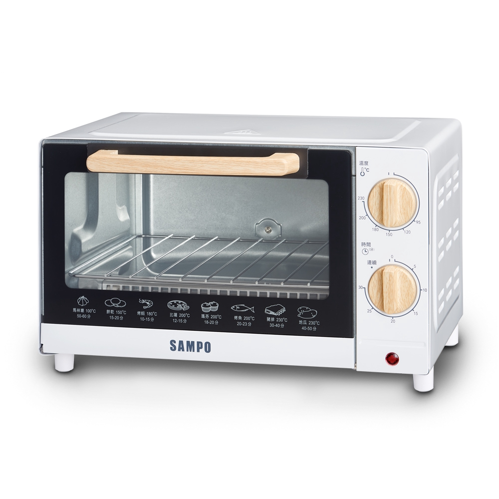 SAMPO聲寶 10公升精緻木紋電烤箱 KZ-CB10 廠商直送 現貨