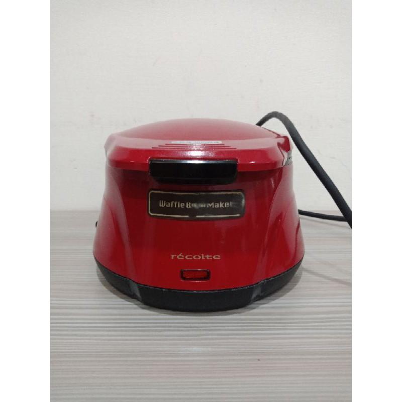 [Recolte]二手麗克特 碗型鬆餅機