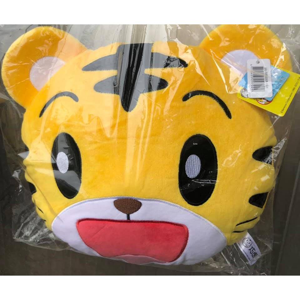 台灣正版授權 巧連智 巧虎頭型抱枕 30公分 布偶 玩偶 娃娃 絨毛玩具