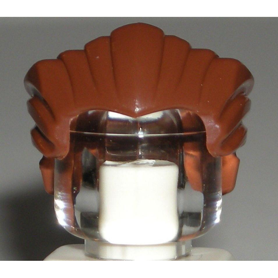 公主樂糕殿 LEGO 樂高 70756 76037 21108 頭髮 紅棕色 油頭 64798 (A-274)