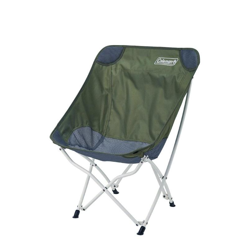 【大山野營-露營趣】新店桃園 Coleman CM-36430 療癒椅/橄欖綠 休閒椅 折疊椅 月亮椅 大川椅 懶人椅