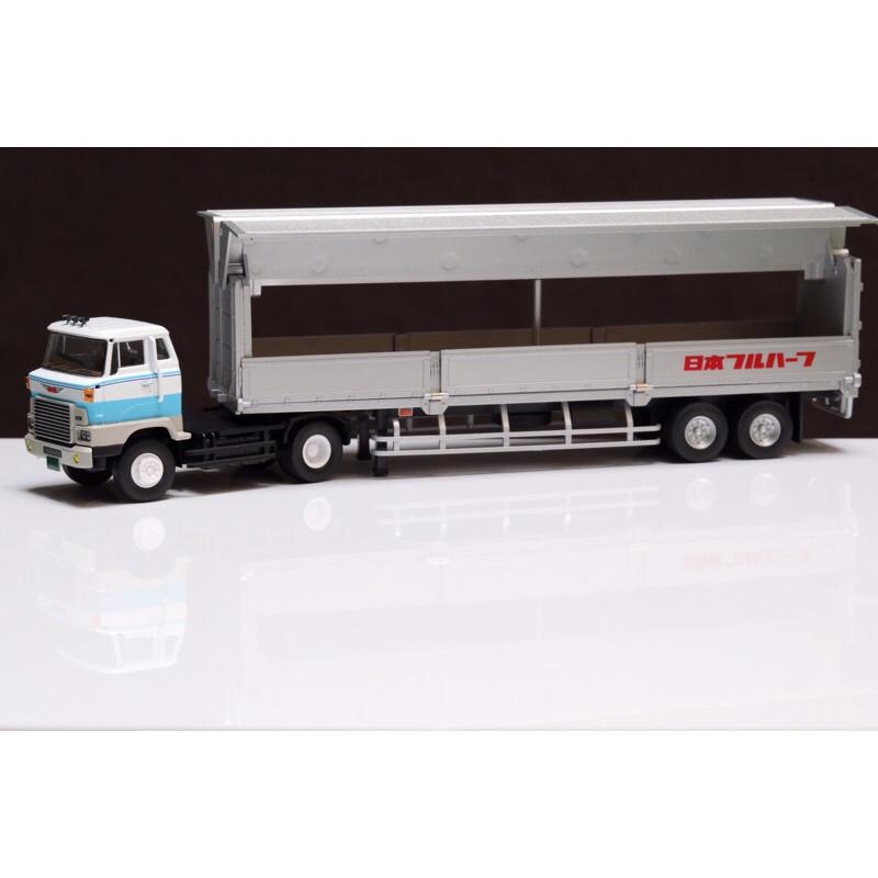 Tomica tlv 167 日野HE-366 拖車 大卡車 聯結車