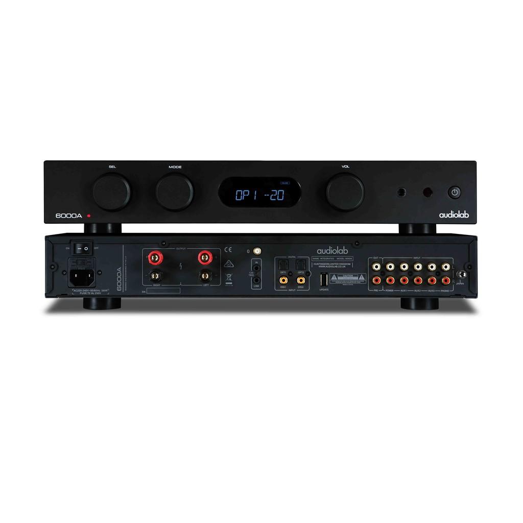 英國Audiolab 6000A 綜合擴大機 (兼容前、後級模式) 公司貨