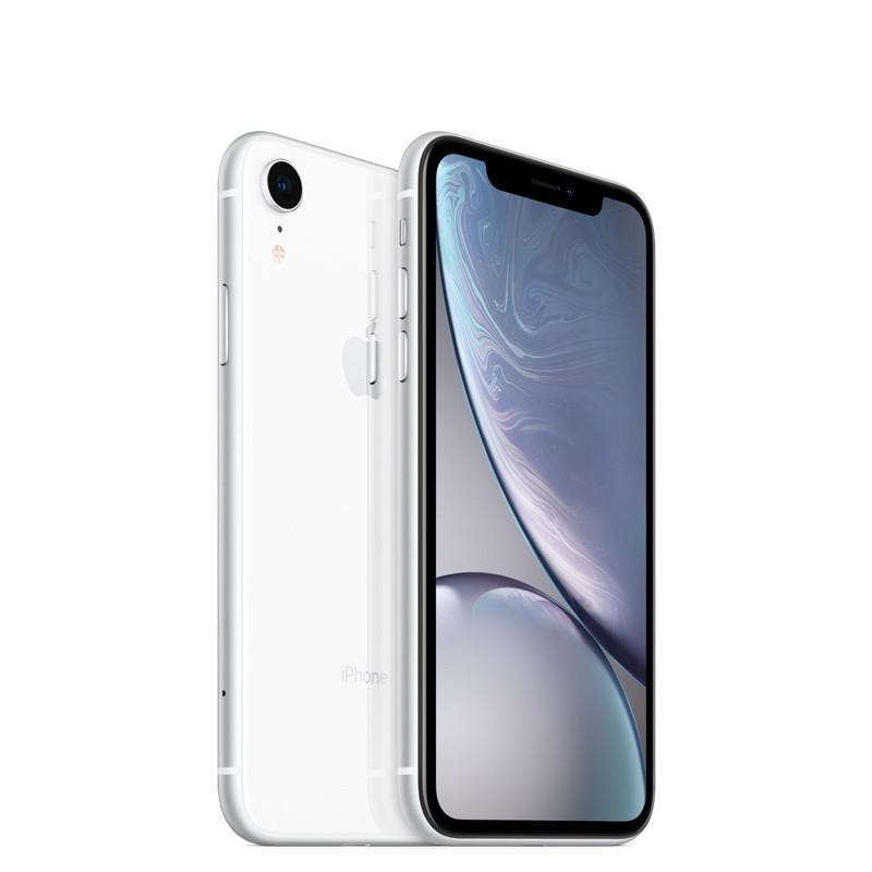 最低價含運 iPhone XR 白 128G 二手 外觀9.99成新 僅一年半 無盒 附充電器 充電線(11月底寄出)