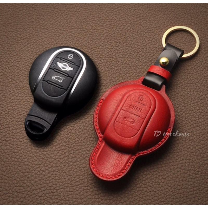 【TD貳館】車鑰匙套《MINI》16色♥️  MINI鑰匙皮套 MINI鑰匙包 MINI鑰匙套 cooper鑰匙套