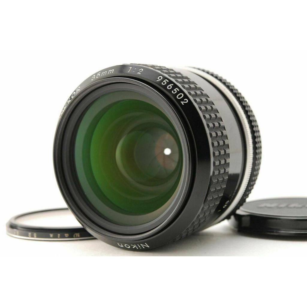 日本直送 胶卷 相机 Used Nikon NIKKOR Ai 35mm F2  #0583