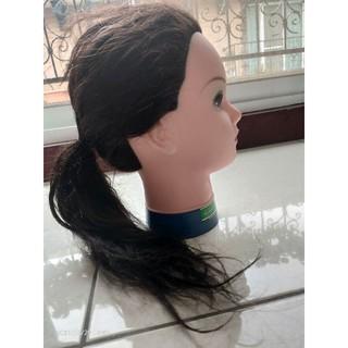 冠軍 假人頭 藍底18吋 買一送二 送腳架送髮捲  包頭 乙丙級美容美髮考試用 練習 桃園市