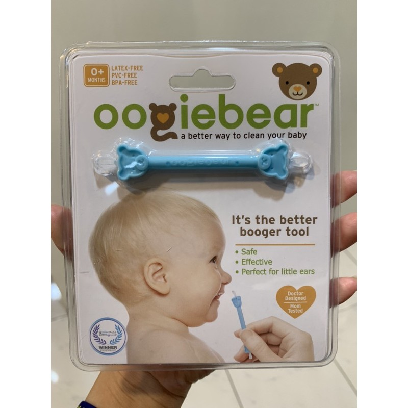 Oogiebear QQ熊 耳鼻清潔棒 挖耳棒 鼻屎棒