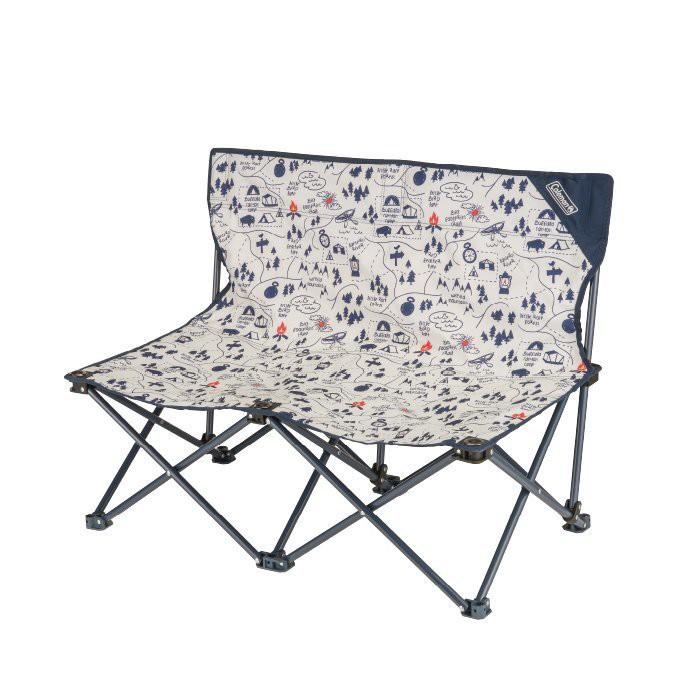 <<<愛露愛玩>>>【Coleman】露營地圖情人椅////附收納袋///雙人椅