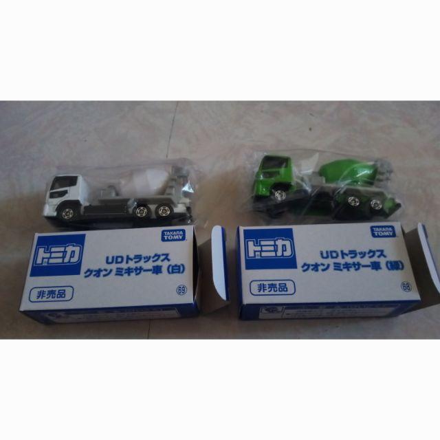 TOMICA 大阪 小車 博覽會 會場 限定 非賣品水泥車( 白色) 69 68 綠色