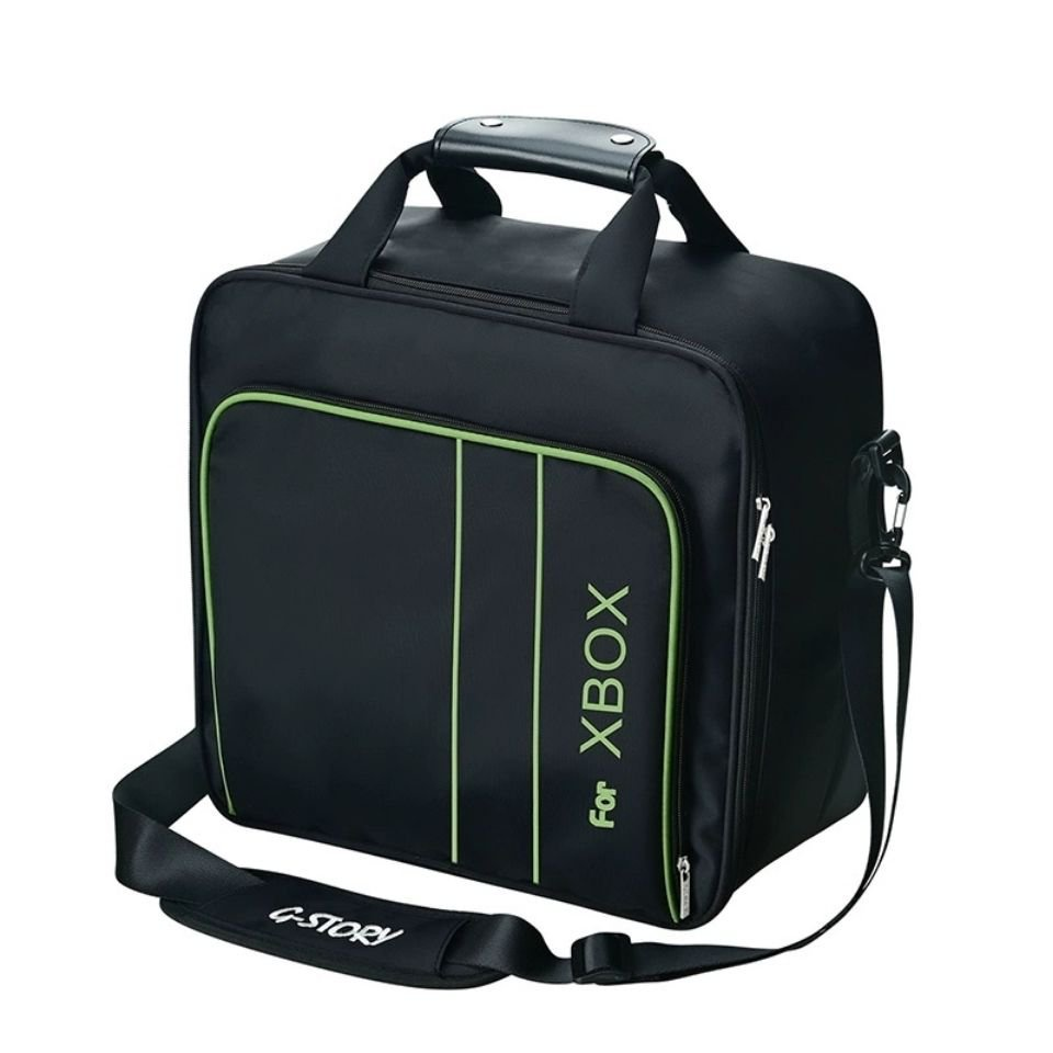 G-STORY原裝xbox主機收納包series x保護包單肩手提旅行包 配件 6O9T