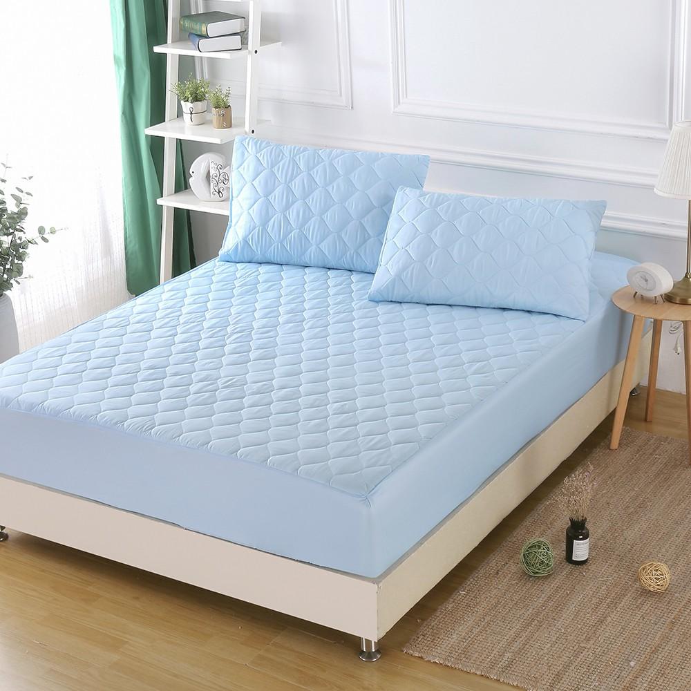 「Belle Vie」3M專利防潑水 舖棉保潔墊(床包式)【多款顏色 - 尺寸任選】日本大和防蟎認證 SGS合格 台灣製