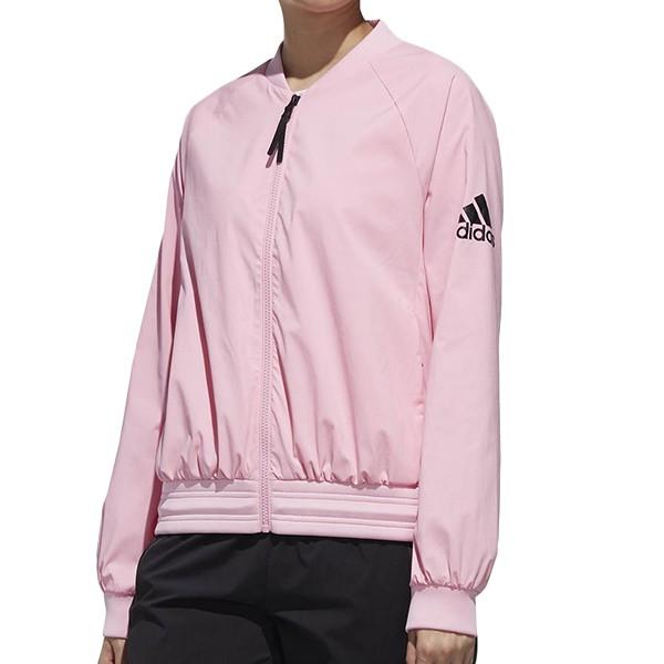 ADIDAS【DW4555】ID 運動外套 手臂LOGO 粉紅 女生