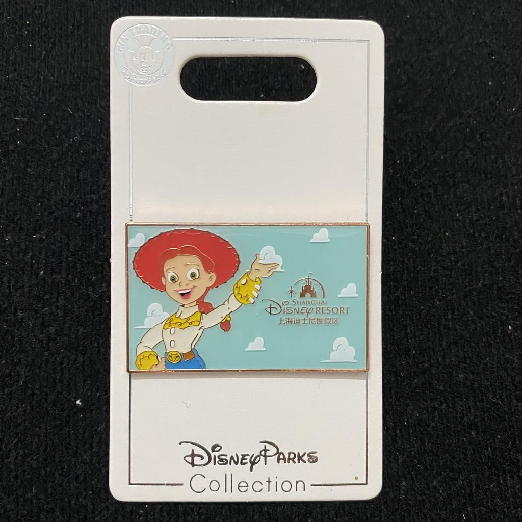 「HW鋪」上海迪士尼徽章disney pin迪斯尼勛章門票盲盒玩具總動員翠絲