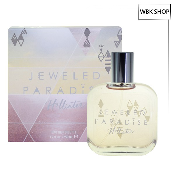 Hollister Jeweled Paradise 女性淡香水 50ml EDT - WBK SHOP