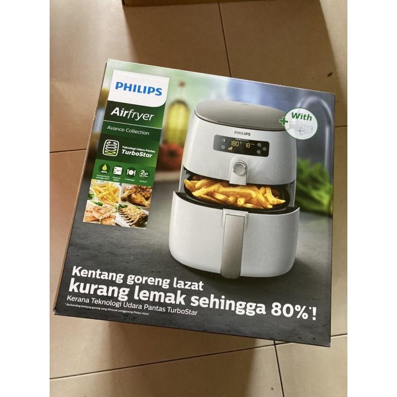 Philips 飛利浦健康氣炸鍋 HD9642 含三件組烘烤鍋、煎烤盤、防濺上蓋