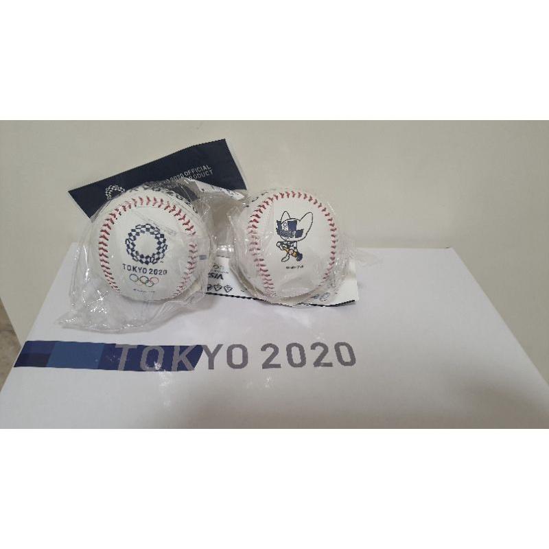2020 東京奧運紀念球 現貨在台 asics 棒球 奧運環及吉祥物2款 中華隊  戴資穎 羽球金牌 接機 必備 簽名球